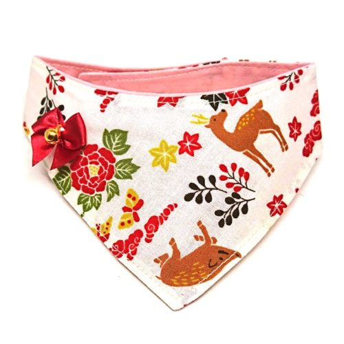 Flora & Fauna – Bandana for cats and dogs (2 sizes)