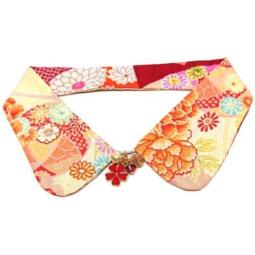 Kimono Reversible Decorative Collar