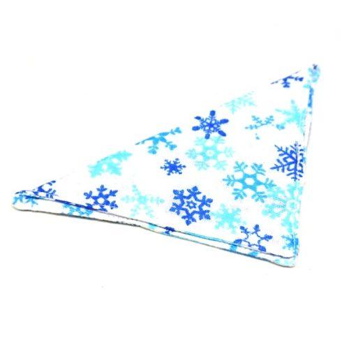 Christmas bandanas for cats & small dogs [2 designs] – Snowflake