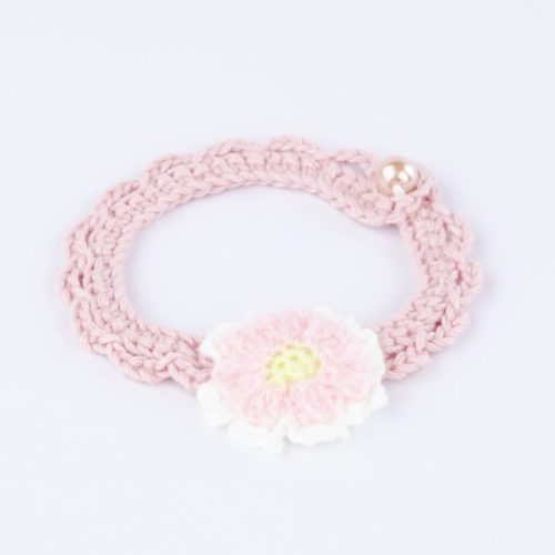 Pretty in Pink Decorative Collar for Cats & Small Dogs