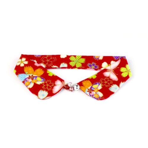 Flowers and Butterflies Decorative Collar
