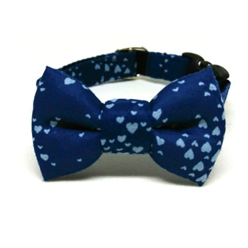 Milky Way collar with bowtie for small dogs and cats