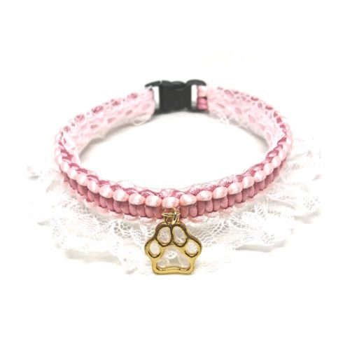 With a Twist: Pink Regal – Collar for Small Dogs