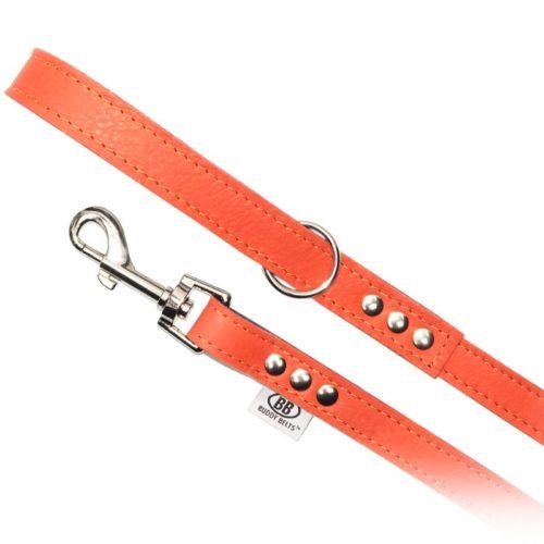 Buddy Belts Luxury Leather Leash (Sunset)