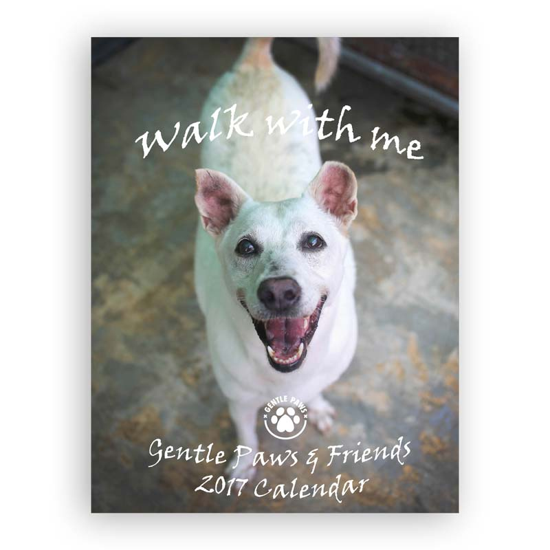 """Walk With Me""–Gentle Paws 2017 Calendar"