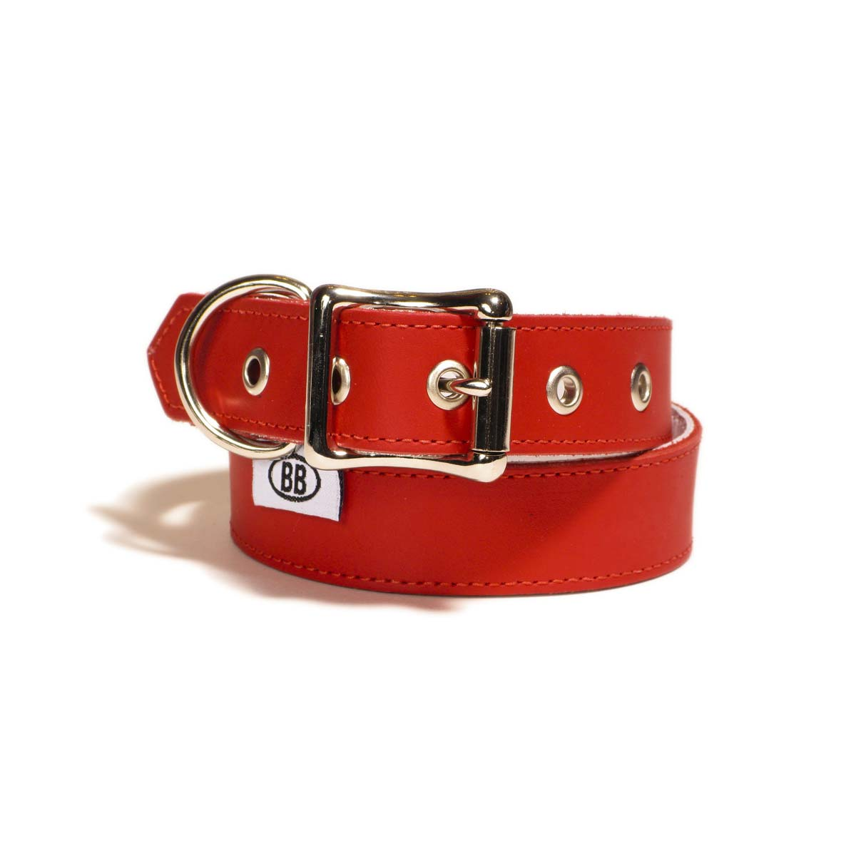 Buddy Belts Premium ID Collars (Red)